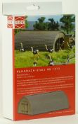 Busch 01513 Round-roof barn - reduced